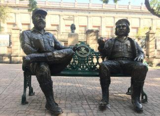 """banca del """"Che"""" Guevara y Fidel Castro"""