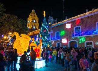 Villa iluminada Atlixco