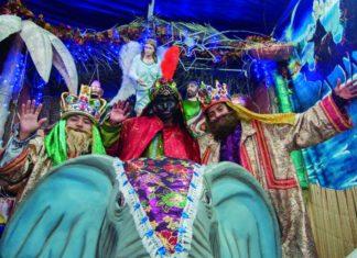 Foto con los Reyes Magos