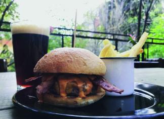 hamburguesa de Bacon Bar