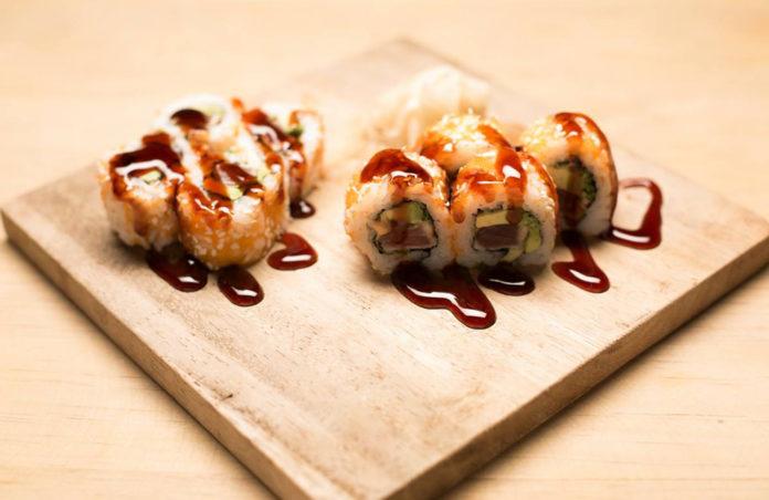 Ah-Un comida asiática