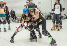 equipo femenil de roller derby