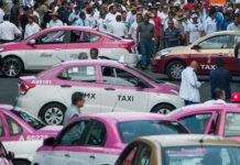 taxis de la Ciudad de México