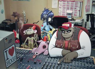 concierto de Gorillaz en el Vive Latino