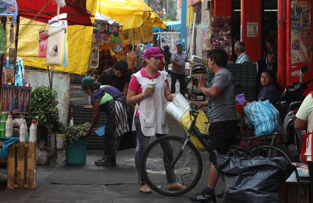 Comer en el Mercado de la Guerrero