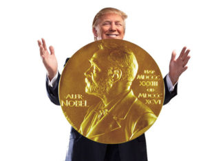 Un Nobel para Trump