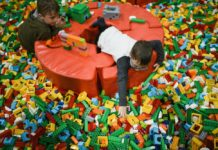 LEGO Play Time en el Papalote 2018