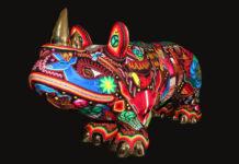 primera Bienal de arte huichol