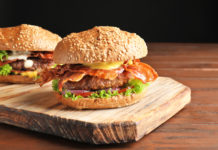 Super Bacon Thickburger