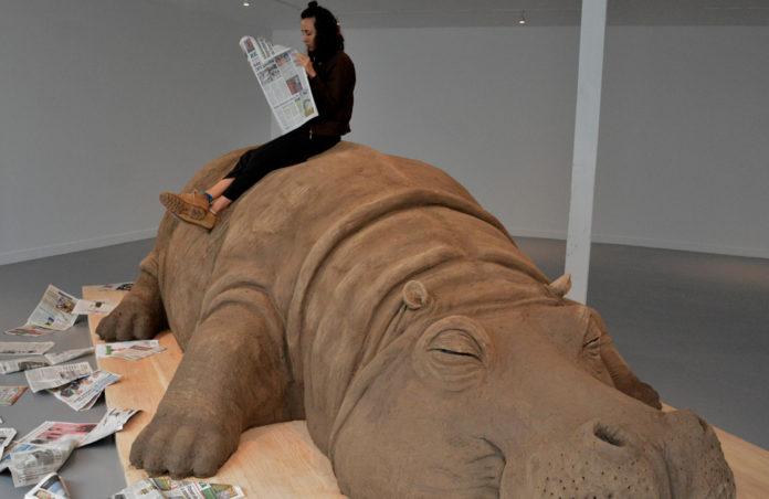 Hope Hippo en el Museo Carrillo Gil