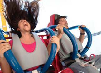 Wonder Woman Coaster en Six Flags