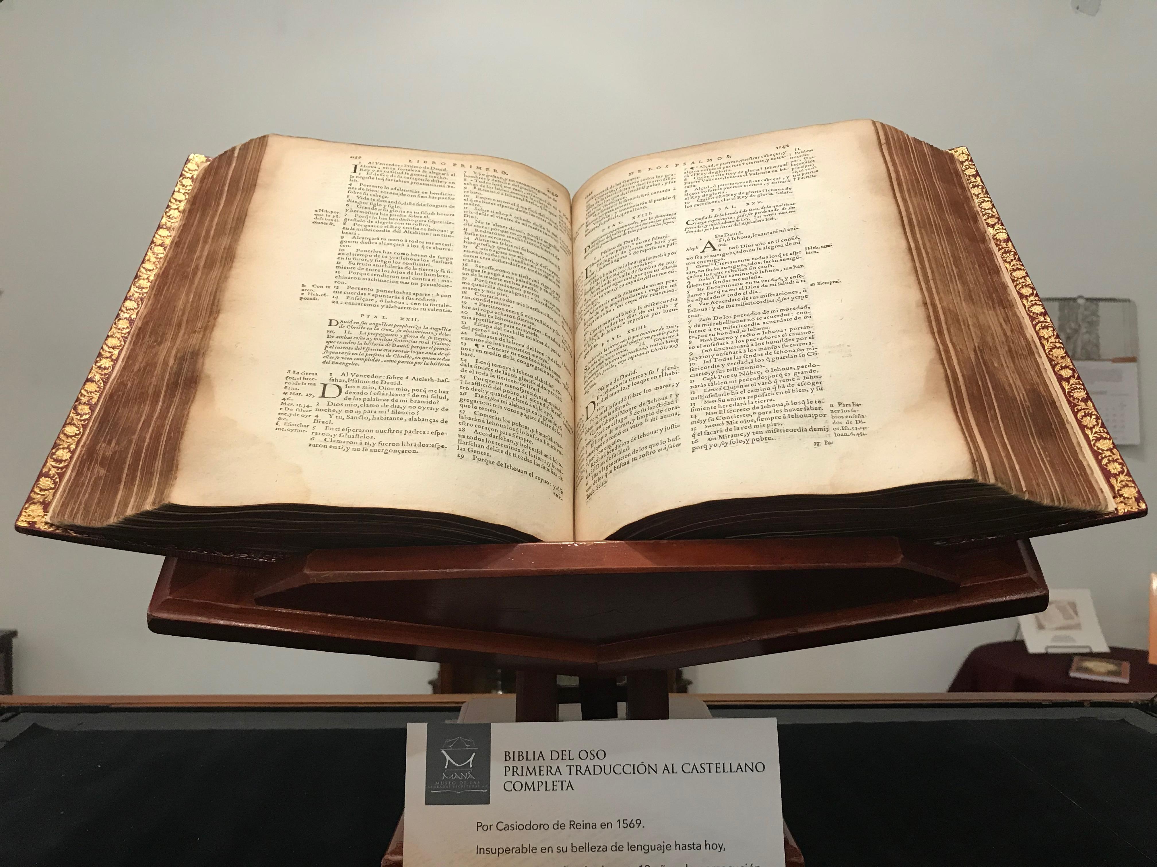 La Biblia tiene su museo - Máspormás