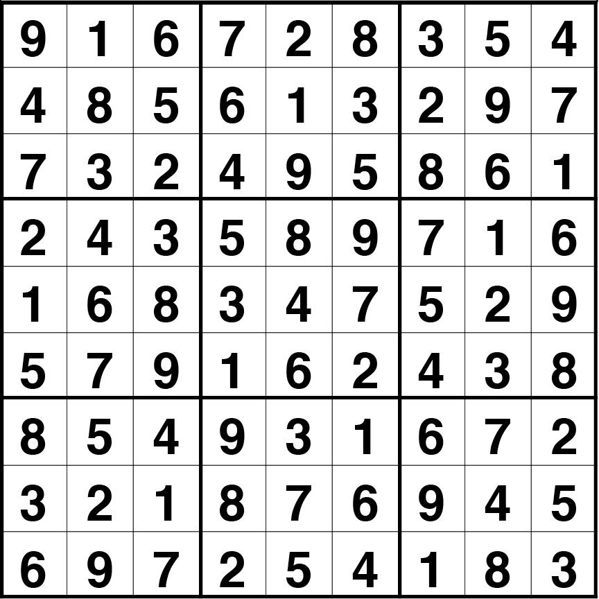 primer nivel detallado 2019 mejor venta Solución sudoku: 19 marzo 2019 - Máspormás